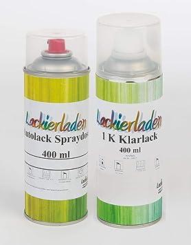 Lackierladen Autolack Im Spraydosen Set 2 X 400 Ml Bmw A82 Vermilionrot Effect Auto