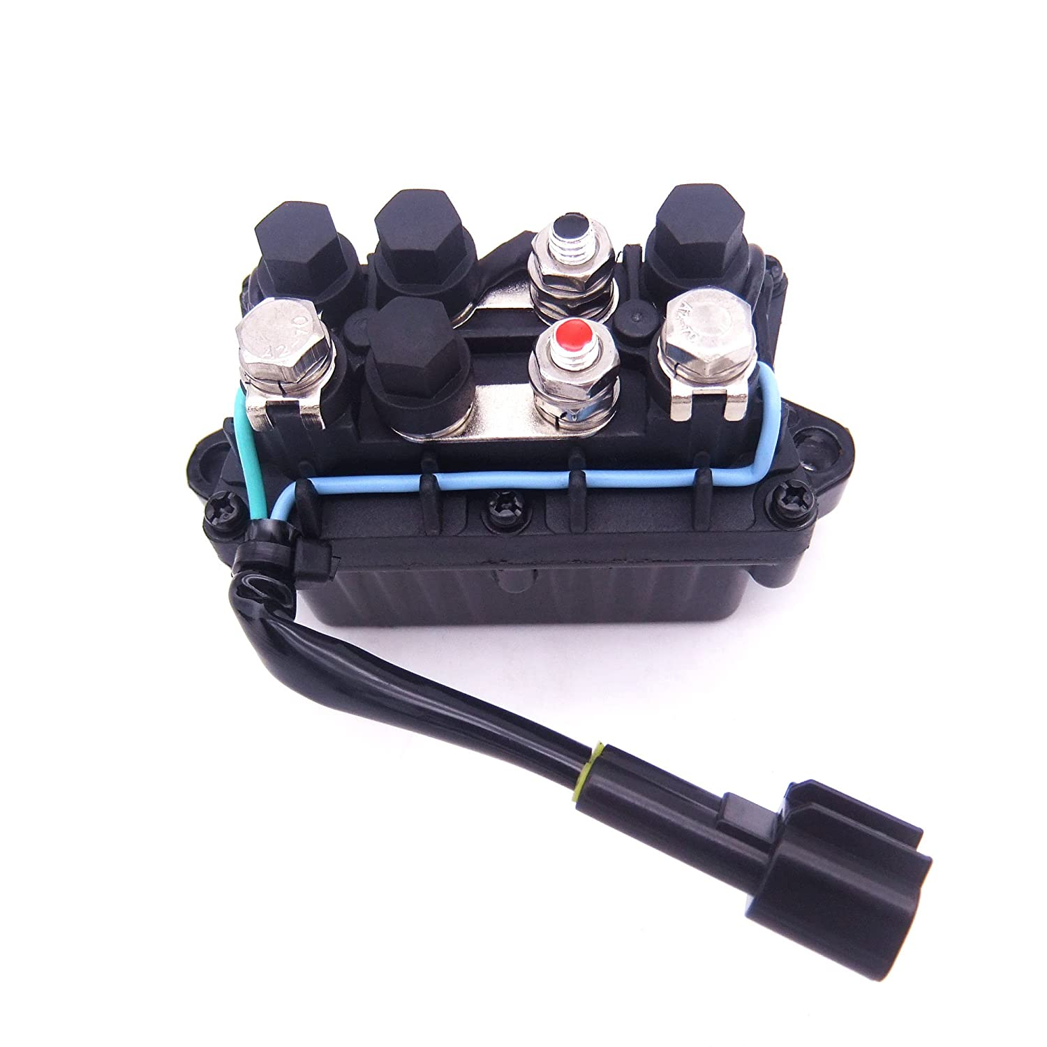 Relay Assy 63p 81950 00 For Yamaha Outboard Motors 4 90hp 2 Stroke Wiring Diagram Engine F 20hp 250hp Sports Outdoors
