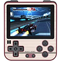 QoLeya Handhållen spelkonsol, multifunktionell retro spelkonsol klassisk retro spelspelare 2,8 tum IPS-skärm Musik och…