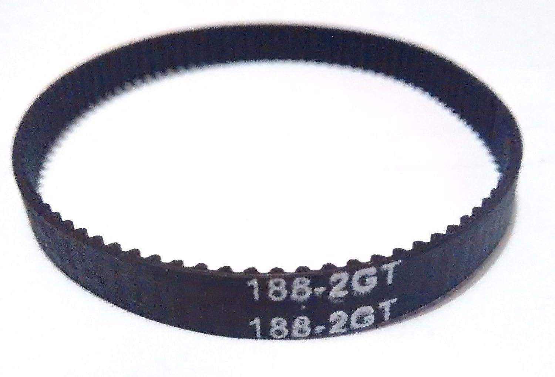 Closed Loop Belt 51 Teeth, 102mm 6mm Width 3D Printer GT2 Looped Belt 2mm Pitch