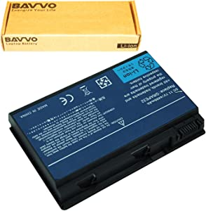 Bavvo Battery Compatible with Acer Extensa 5210 5220 5620G 5620Z TravelMate 5310 5320 5520G 5520 5710, 11.1V