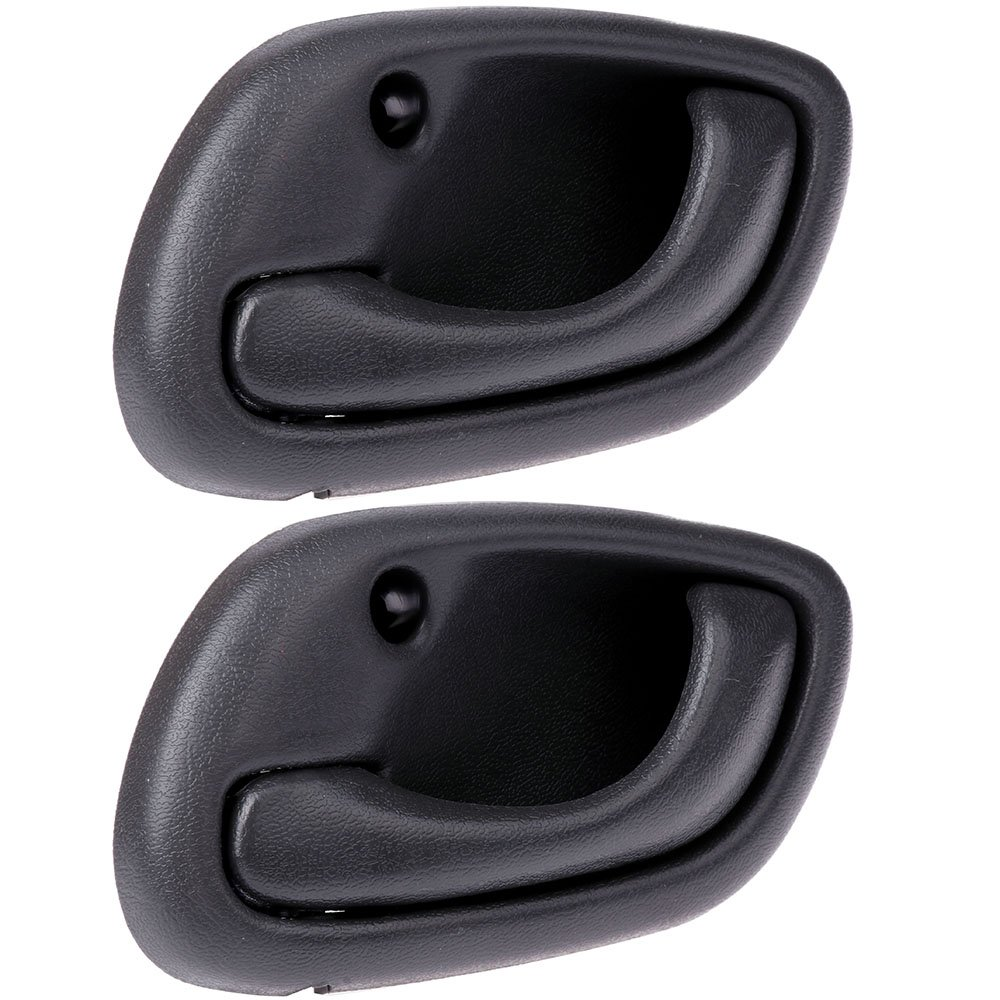 SCITOO Door Handles Interior Front Rear Left Side fit Chevrolet Tracker 1999 2000 2001 2002 2003 2004 Gray(2pcs)