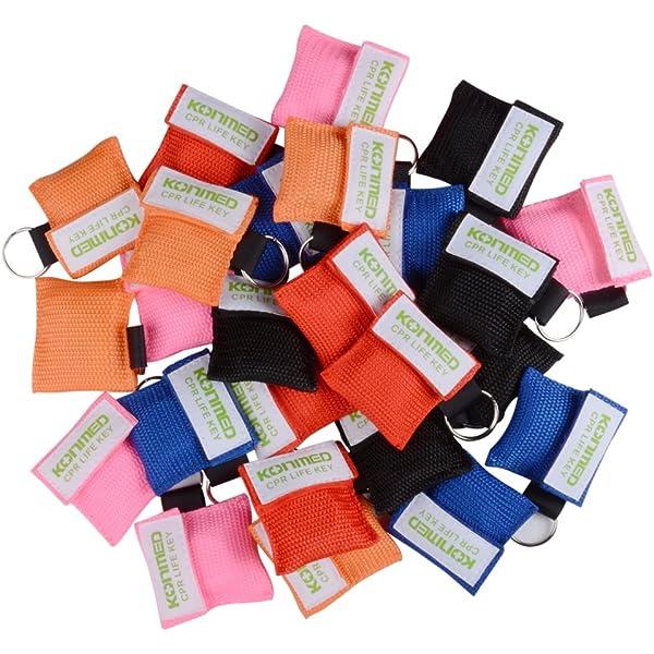 KONMED 50 piezas/unidades 5 colores RCP con llaves de ...