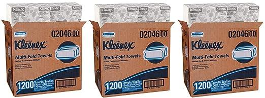 Kimberly-Clark Kleenex 02046 - Toallas de Papel multipliegue, 9 1/5x9 2