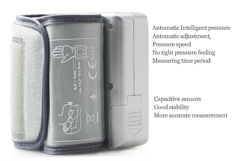 ... Tiempo Fecha de la voz de pulso Medidor de frecuencia cardíaca instrumento de gran LCD Digital Detector Ancianos Padres Inicio Viajes Salud Regalos, ...