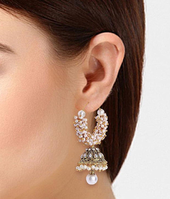 Shining Diva Jewellery Gold Plated Pearl Stylish Fancy Party Wear ...