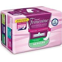 Depend Femenine Anatómica Súper Toalla para Incontinencia, 144 toallas (18x8)