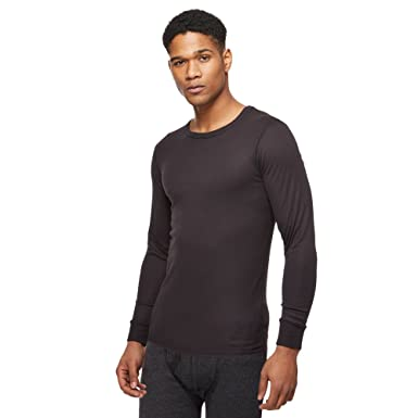 9ba9dd58891a Maine New England Men Black Long Sleeved Thermal Top: Maine New England:  Amazon.co.uk: Clothing