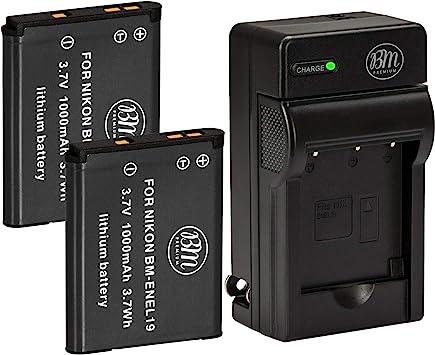 S7000 W100 Reemplazo de la batería EN-EL19 para Nikon Coolpix S6600 S6800 S6900