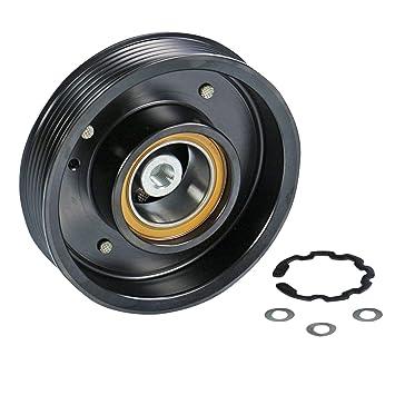 1x Polea para compresor de aire acondicionado A4 8E2,B6 1.6,1.8 T,1.9 TDI,2.0 ...