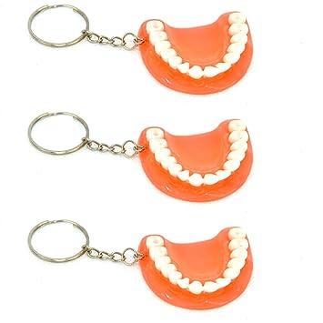 3 x bocado para llavero 3rd dientes tercera Llaveros ...