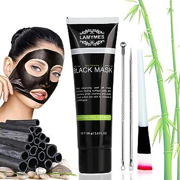48d09c36cb8e Masque Point Noir, Masque noir de charbon de bambou, Noir Masque, Peel off