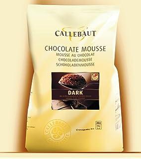 Callebaut polvo de mousse de chocolate negro