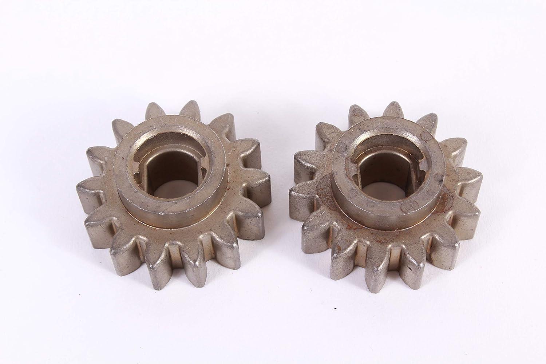 Husqvarna 2 Pack 532137054 Pinion Gear for 56DHS 56SF 6522CHA 6522SHA 7021CH1