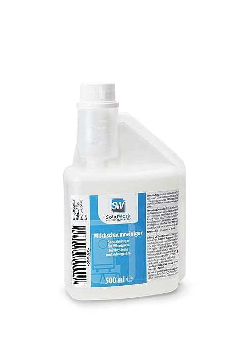 Líquido de limpiador para espumador de leche de solidwork 500 ml ...