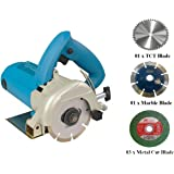 DIY Engineers 5-inch Marble/Wood/Iron Cutter Machine with 5 Wheels