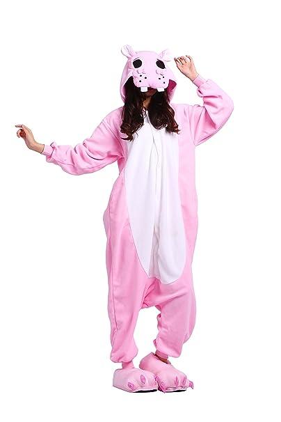 YUWELL Kigurumi Pijamas Cartoon Animal Novedad Navidad Pijama Onesie Cosplay: Amazon.es: Ropa y accesorios