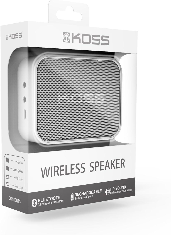 Koss Bts1 Enceinte Nomade Bluetooth Headset Musikinstrumente