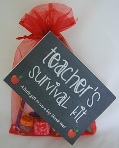 TEACHER SURVIVAL KIT GIFT: Amazon.co.uk: Kitchen & Home