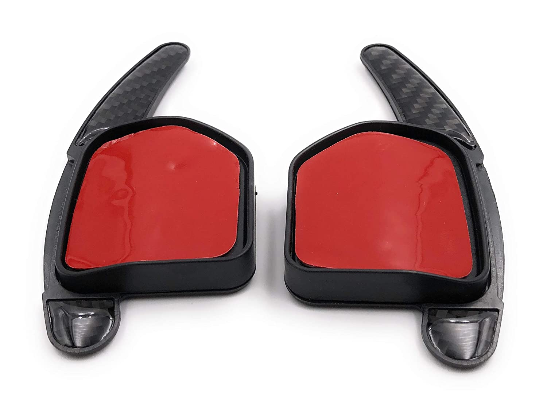 Onlineworld2013 Schaltwippen Dsg Shift Paddle A3 S3 RS3 8p 8pa; A4 S4 RS4 8k b8; A5 S5 etc bis 2012 etc Carbon Optik