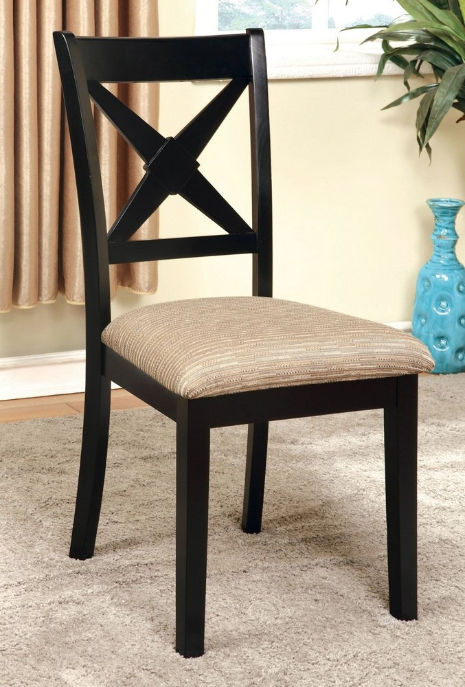 247SHOPATHOME IDF-3776SC Dining-Chairs, Oak