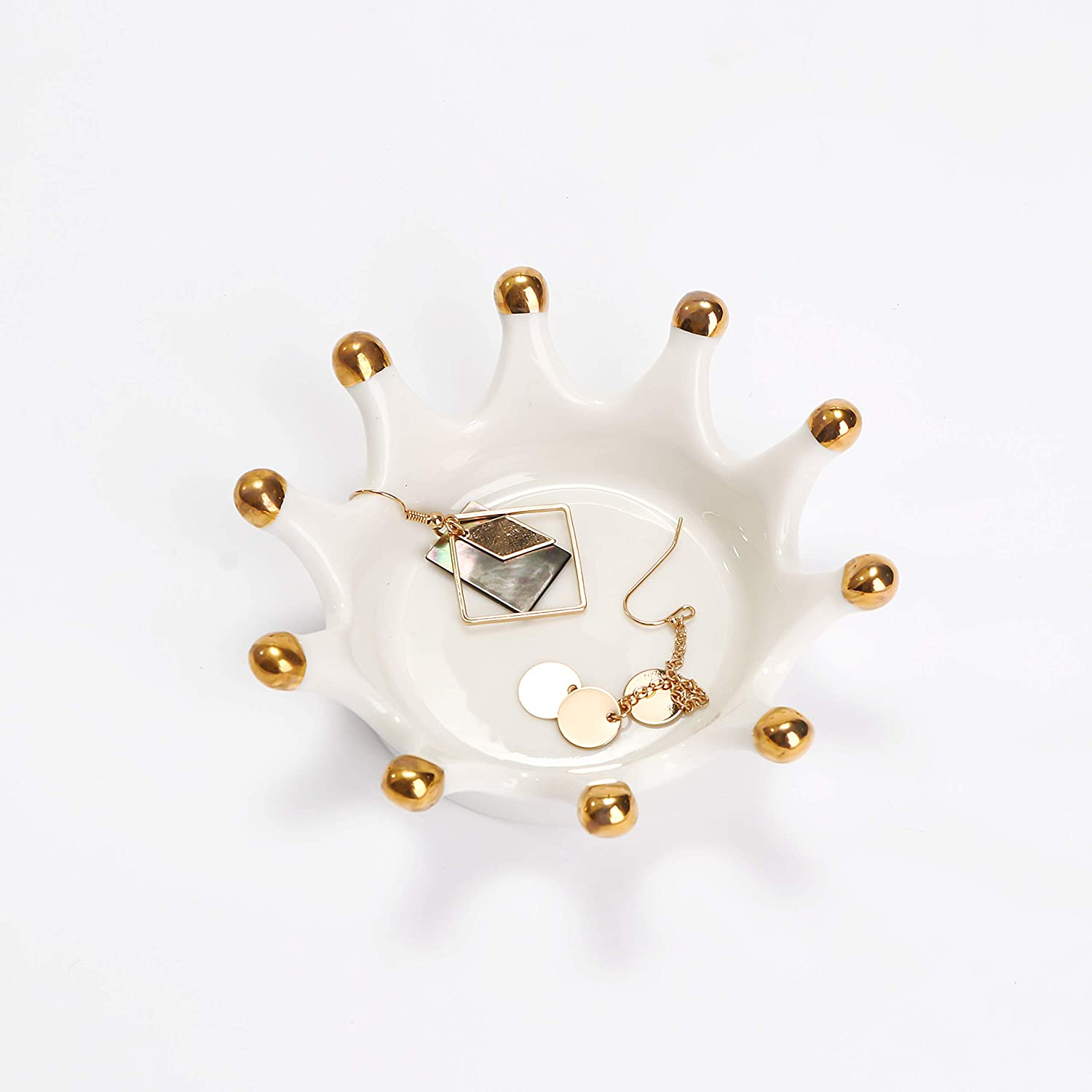 Amazoncom Crown Ring Holder Jewelry Holder For Women Jewelry Dish