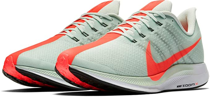 Amazon.com : NIKE Mens Air Zoom Pegasus 35 Turbo Running Shoes, (Grey/Red/Orange, 14 D (M) US) : Sports & Outdoors