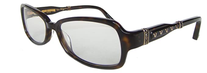 TRUE RELIGION Shiloh Eyeglasses Tortoise Optical Frames: Amazon.co ...
