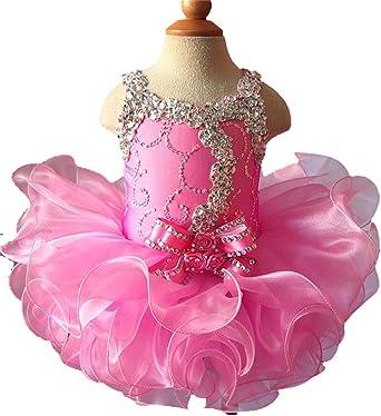 Jenniferwu Infant Toddler Baby Newborn Little Girls Pageant Party Birthday Dress 3months to size7 CGG037-1A