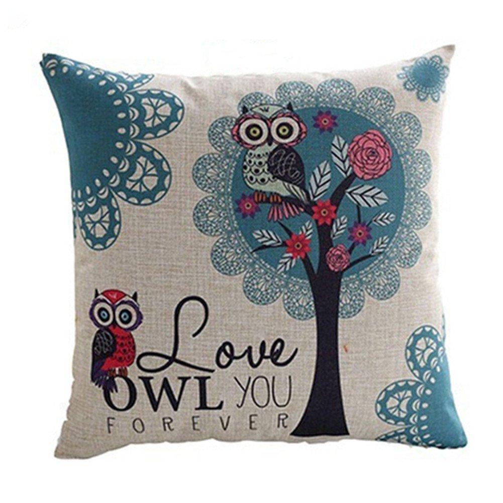 wintefei Pillow Case Throw Cushion Cover Home Sofa Decor?-12#