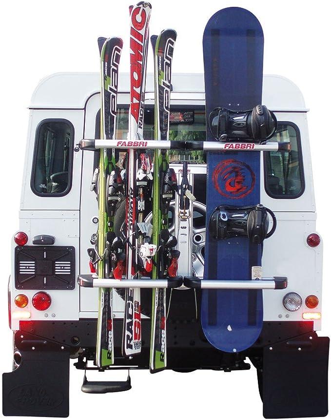Fabbri Hp 6950258 Ski Boardträger Am Reserverad Auto