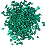 Arswin Malachite Natural Crushed Stone Bulk Small Tumbled Chips Crystal Healing Reiki for Outdoor Indoor Home Making…
