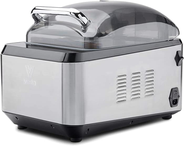 Chamber Vacuum Sealer by Vesta Precision - Chamber Vac Pro I | Powerful Dry Pump | Extends Food Freshness | Innovative Bubble Top Design | Perfect for Small Restaurants and Food Trucks | 580 Watts