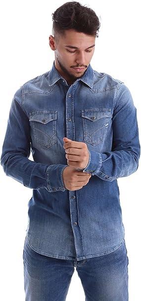 Gas Jeans Kant Camisa, BLU (Wy24), X-Large para Hombre: Amazon.es: Ropa y accesorios