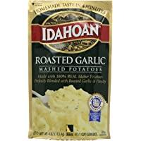 Idahoan Mashed Potatoes, Roasted Garlic , 4 Oz