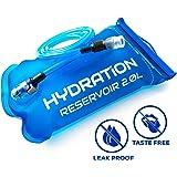 Perfect Hydration Bladder Pack - Leakproof Water Reservoir, No Plastic Taste, FDA Approved, BPA Free - 2L / 3L