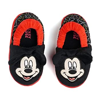 Disney's Mickey Mouse Slippers Toddlers Unisex (11/12)