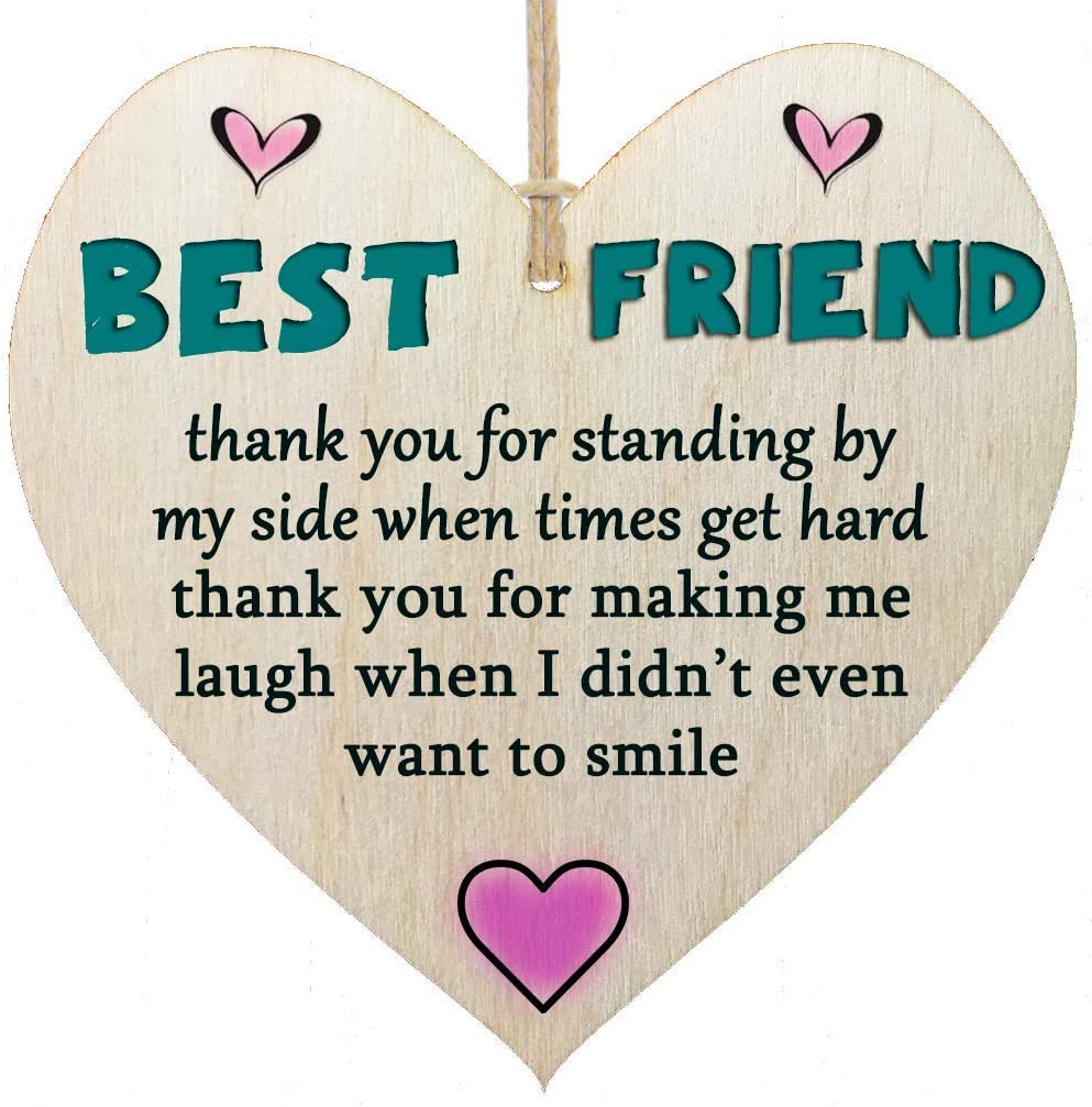 Stocking Filler Present Good friends are Hard To Find sign Gift