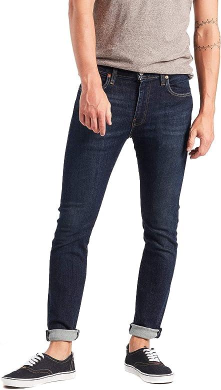 Online-Verkauf mehrere farben heißester Verkauf Levis Herren Jeans 519 Extreme Skinny 24875-0079 Blue ...
