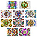 Woven Wonders - Line Art Coloring Poster 10-pack