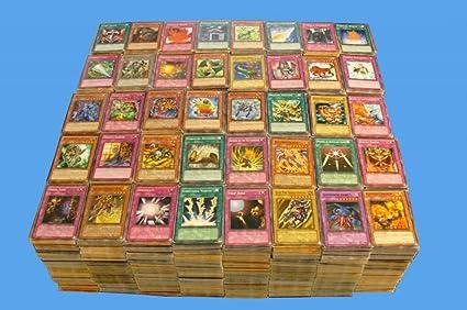 Partijen kaarten Yugioh Huge 200 Card Lot Rares Holos 1st Editions Unlimited Super Ultra Secrets