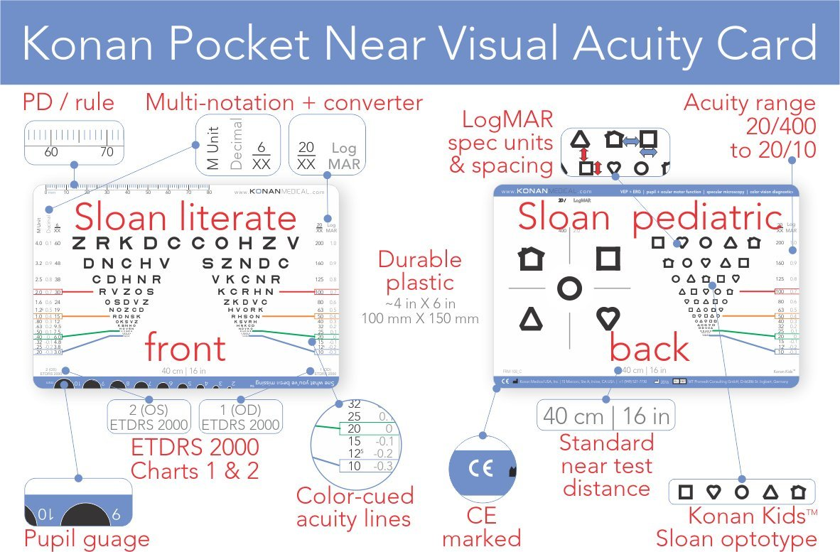 Amazon konan pocket near visual acuity card industrial amazon konan pocket near visual acuity card industrial scientific nvjuhfo Image collections