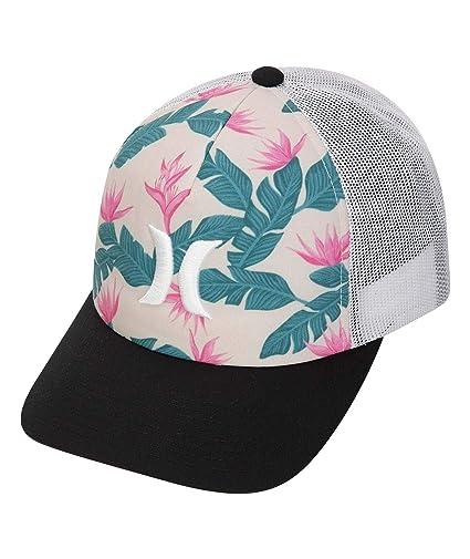 Hurley W Hanoi Icon Trucker Hat Gorras/Sombreros Mujer, Crimson Tint 1SIZE