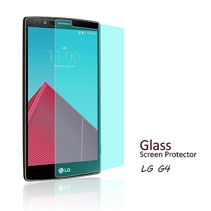 Amazon.com: TANTEK LG G4 Screen Protector, [Bubble-Free][HD ...
