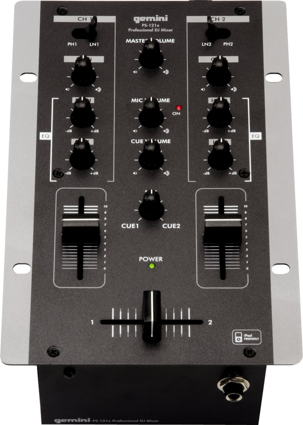 Amazon.com: Gemini PS121 X Professional 2 canales estéreo ...