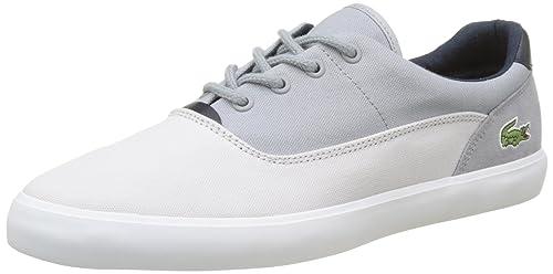 Lacoste Jouer 217 1, Bajos para Hombre, (Gris Clair), 47 EU  Amazon.es   Zapatos y complementos 37af8ac992