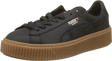 PUMA Basket Platformphoria Gum, Sneakers Basses Femme