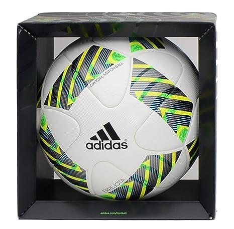 adidas FIFA Omb Balón, Hombre, Multicolor (Blanco/Negro/Briazu ...
