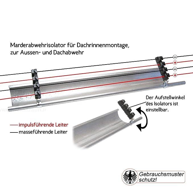 EINZIGARTIG Marderabwehr durch den 4er Marderzaun. Marderschutz der ...