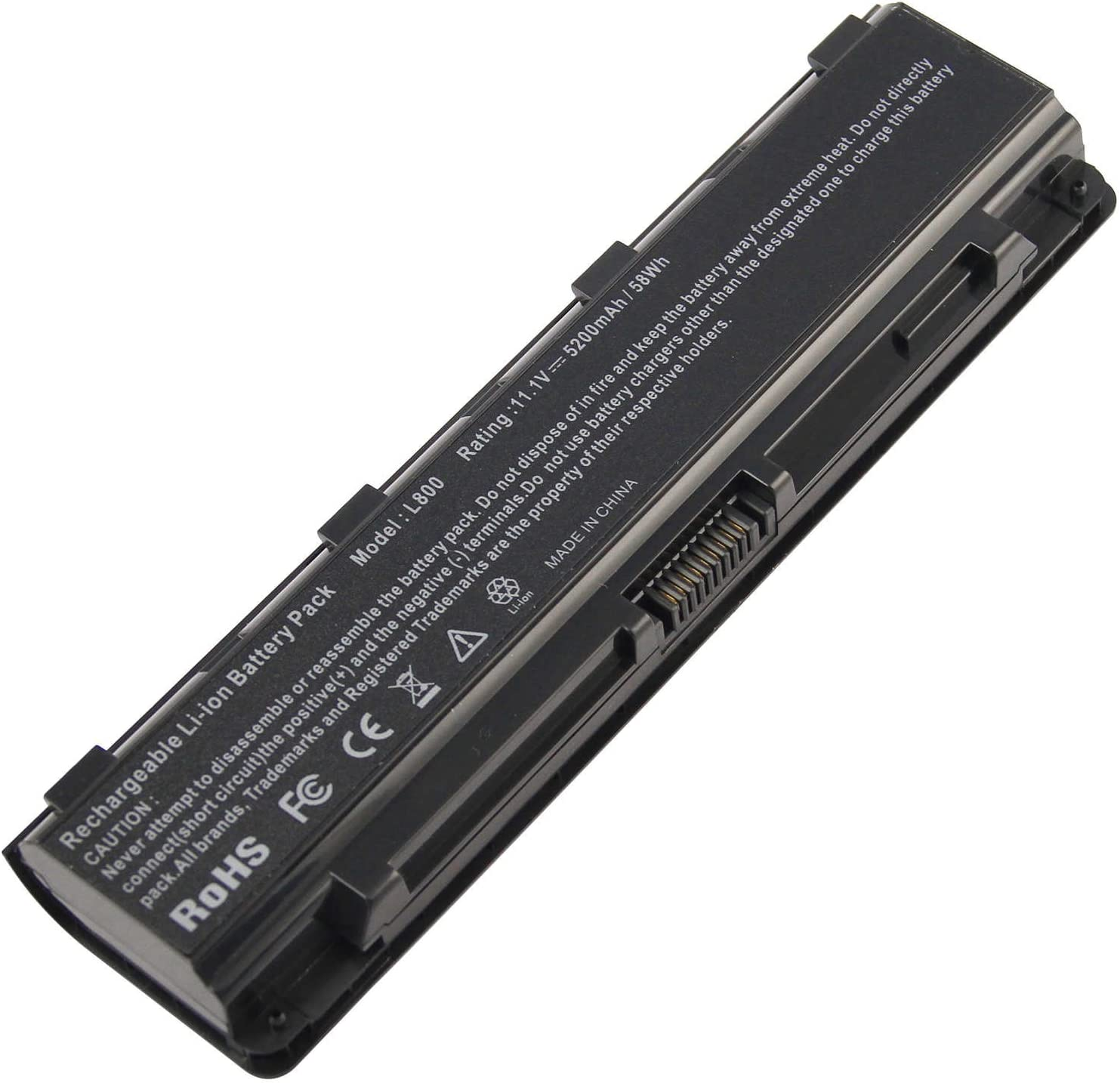 Laptop Battery for Toshiba Satellite S70DT C55-A5302 C55-A5308 C55-A5309 C55D-A5150 C55T-A5314 Battery PA5024U-1BRS PA5121U-1BRS